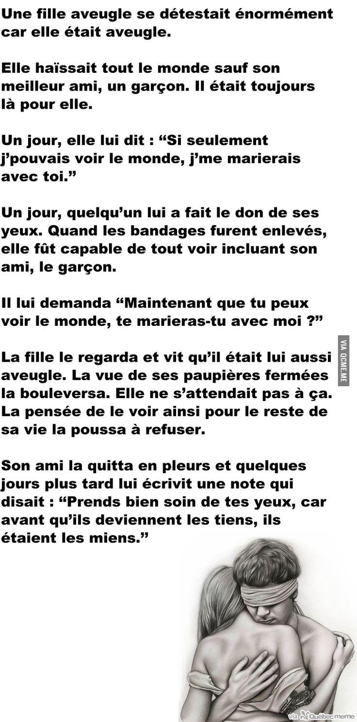 Aveugle – Québec Meme +