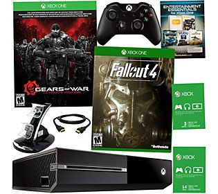 Xbox One 500GB Gears of War with Fall Out 4 & 3 Month Xbox Live Card