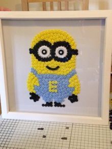 Minion Button Art