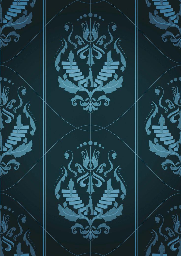 Adobe Illustrator & Photoshop tutorial: Design damask patterns for wallpaper…