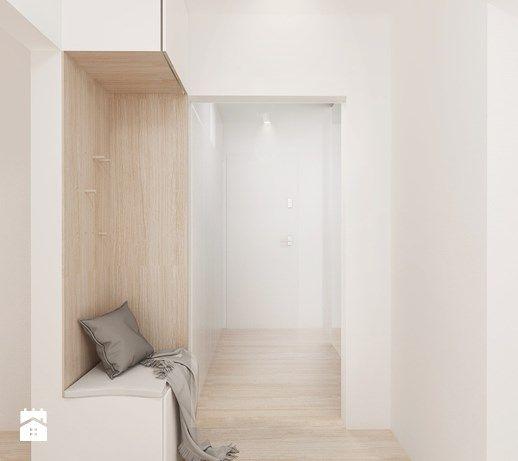 Ciepłe mieszkanie - Hol / przedpokój, styl skandynawski - zdjęcie od FOORMA Pracownia Architektury Wnętrz