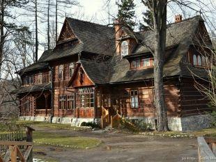 """Willa """"Koliba"""" - pierwszy dom wybudowany według projektu Stanisława Witkiewicza"""