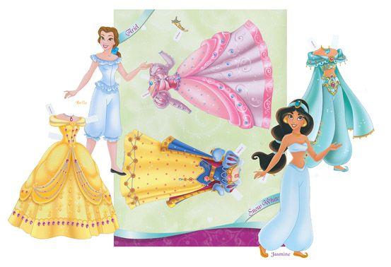 coloring page disney prince and princesses paper doll all dressed up disney princess paper. Black Bedroom Furniture Sets. Home Design Ideas