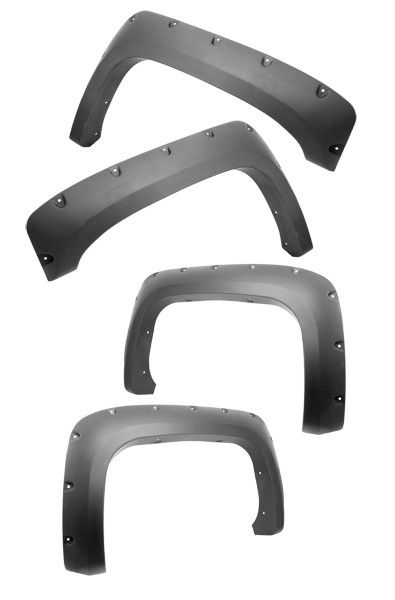All Terrain Fender Flares; 07-11 Chevy 1500/2500HD/3500HD Pickups