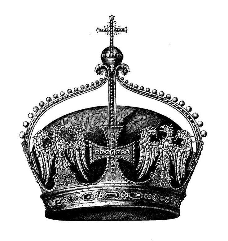 Crown of the german crown prince frederick die attribute