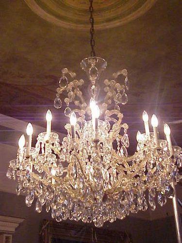 Elegant Chandeliers were a hallmark of Victorian mansions like Craigdarroch Castle by mharrsch, via Flickr