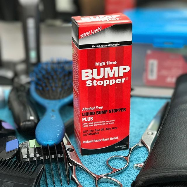 Experienced barbers recommended Bump Stopper. #barbers #shave #head #skin #scalp #easy #NoMoreBumps #BumpStopper #razor #bumps #rash #ingrown #hair #neck #epilation #wax
