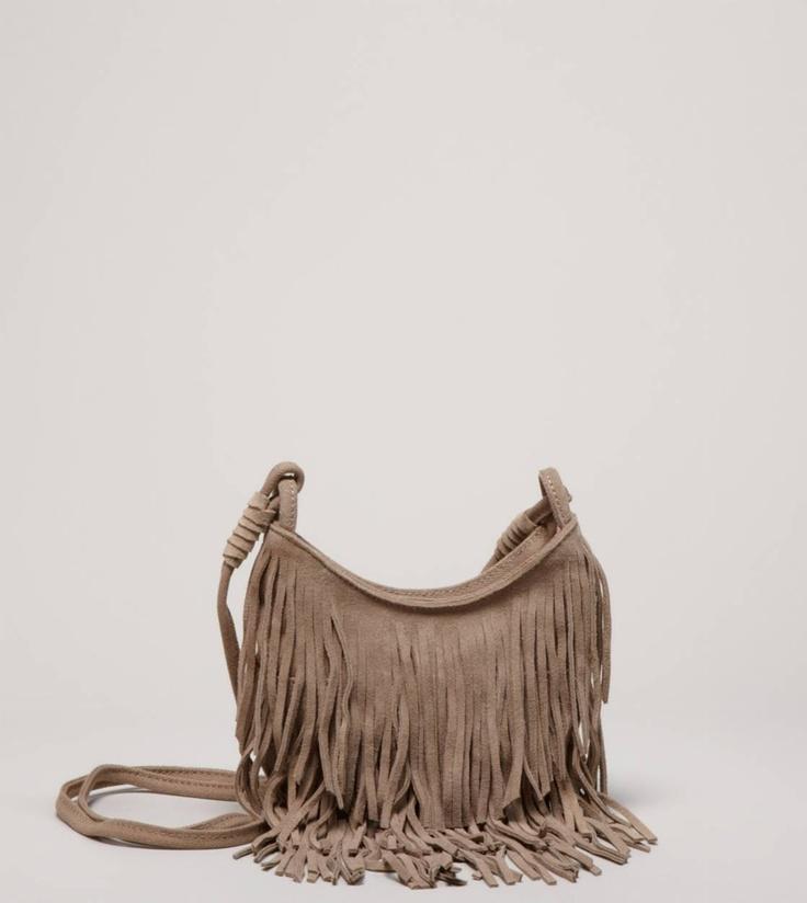 AEO Fringed Bag!!!!!!!!! I've got a new bag obsession....so, BIRTHDAY IDEAS! I'd love the *dark brown one :)