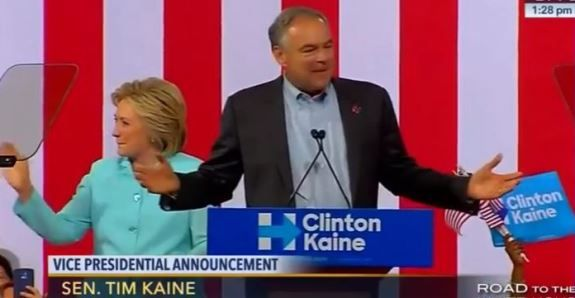 """Tim Kaine another ISLAMIST - IF POLITICIANS ARE SO CONCERNED ABOUT """"REFUGEES"""", WHY AREN'T THEY BRINGING IN CHRISTIAN REFUGEES BY THE THOUSANDS?  WHY ONLY SUNNI MUSLIMS FROM TERRORIST COUNTRIES?"""