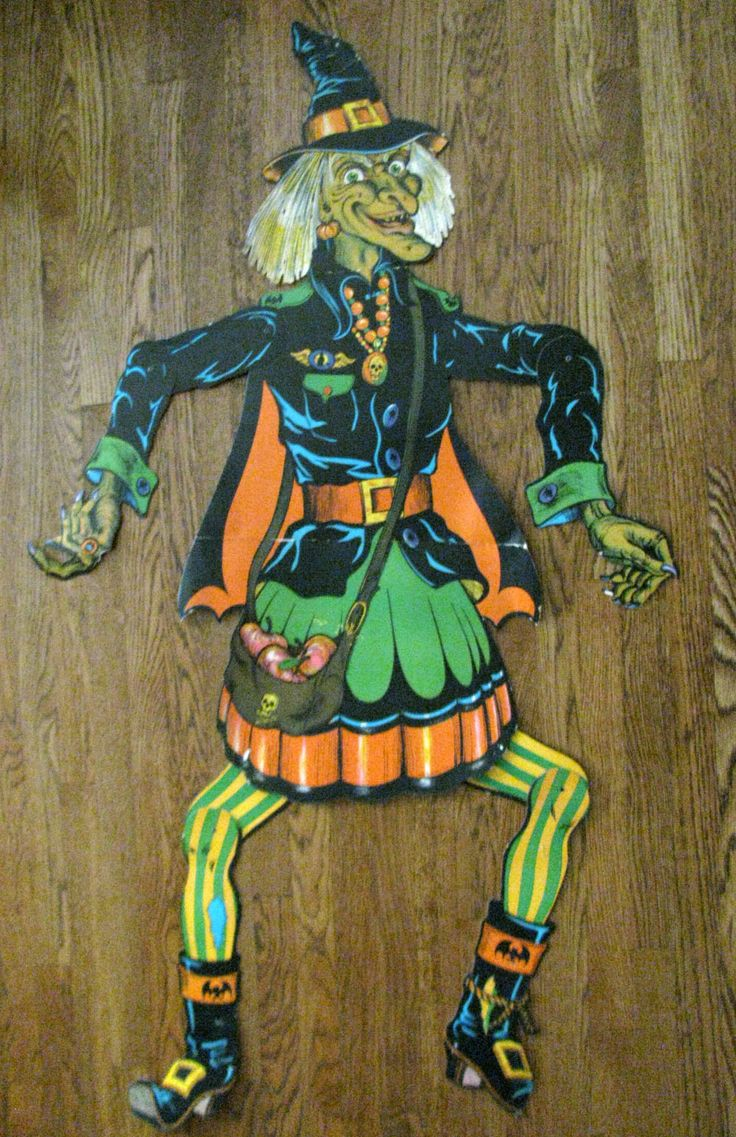 Vintage halloween decorations plastic - 25 Amazing Halloween Witches Decorations Inspiration