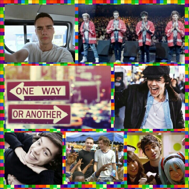 One way or Another i'm gonna find ya, I'm gonna getcha getcha getcha getcha. <3