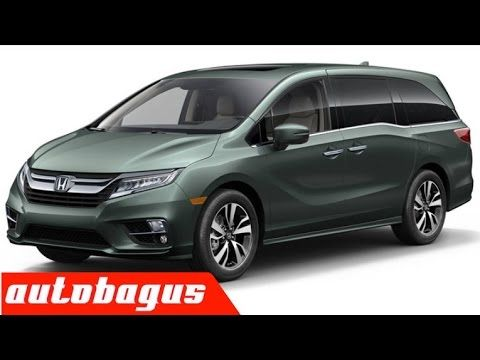 2018 Honda Odyssey Walkaround Exterior and Interior With Full Specification