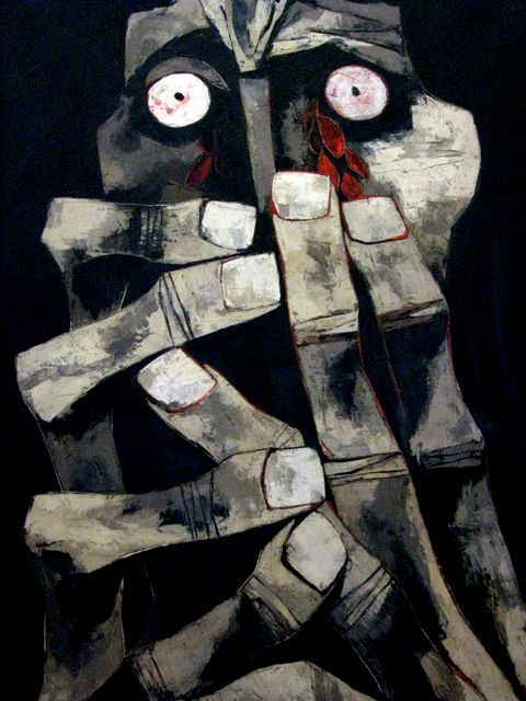 Day 3: Bloody Tears by Oswaldo Guayasamin, Quito (Ecuador)