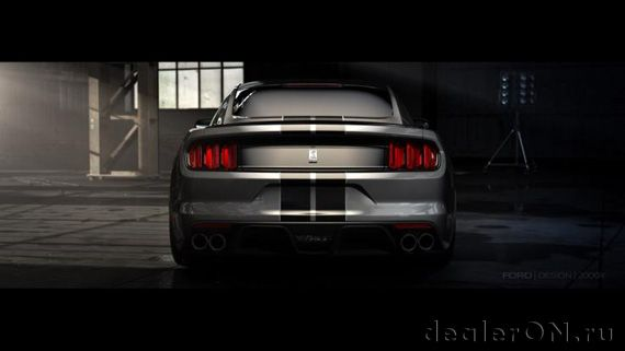 Ford Shelby GT350 Mustang 2015 / Форд Шелби GT350 Мустанг 2015 – вид сзади