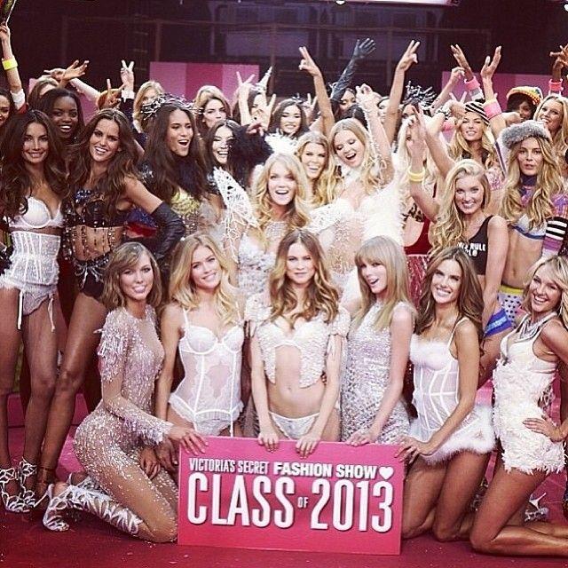 Class of '13! #vsfashionshow
