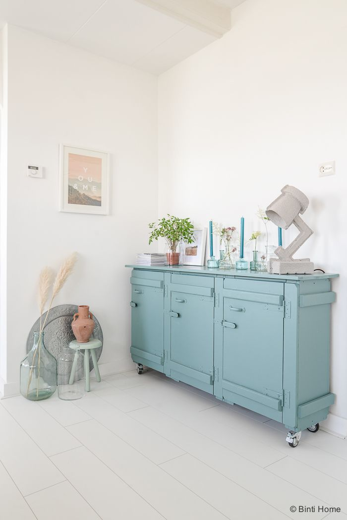 Turquoise kast pure and original styling my home  ©BintiHome