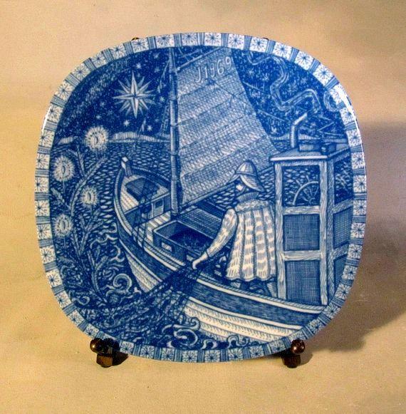 Рождественская тарелка Гуннара Нилунда