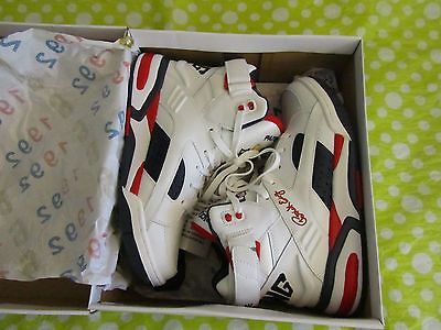 Ewing Athletics Eclipse USA White Olympic Basketball Shoes 1EW90152-125 Sz 10.5
