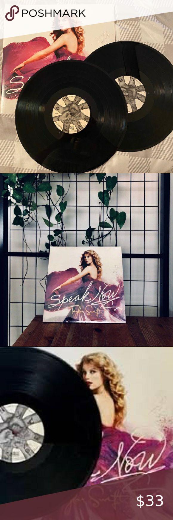 taylor swift speak now vinyl album record disc set ...