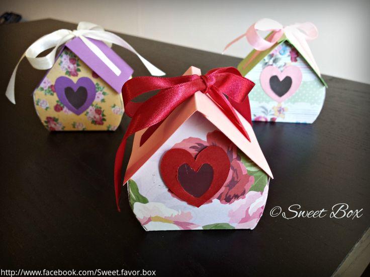 Bird House Favor box