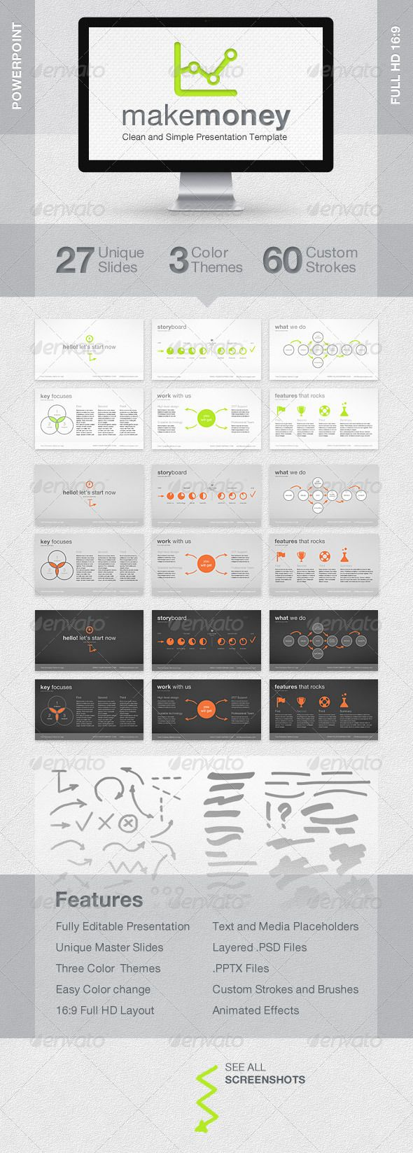 MakeMoney Powerpoint Presentation Template