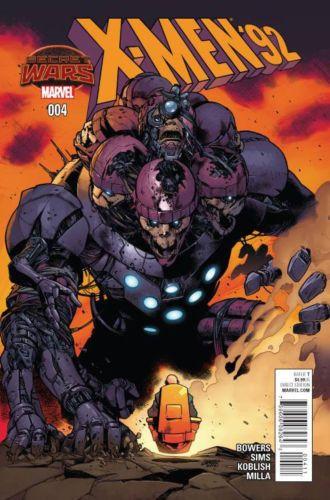 X-Men 92 #4 Marvel Comics (2015)