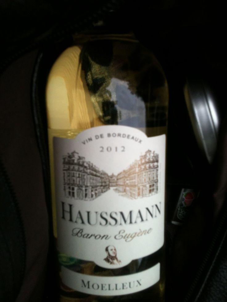 Bordeaux blanc moelleux Haussman baron Eugene