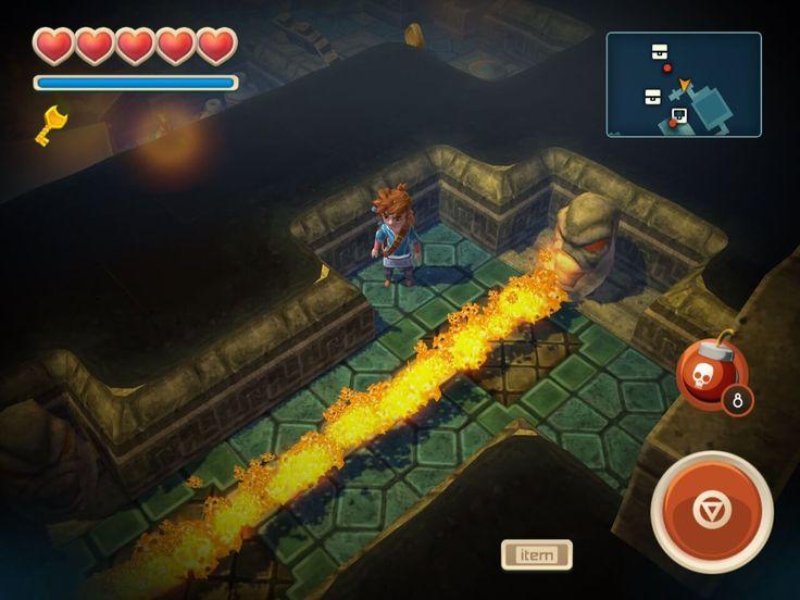 Oceanhorn Review | iOS iPad Game Review #Oceanhorn