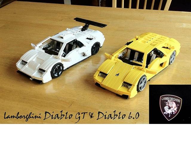 Lego Lamborghini Nomana Bakes