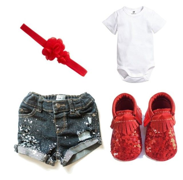 """""""Painted Shorts"""" by babiesswardrobe ❤ liked on Polyvore"""