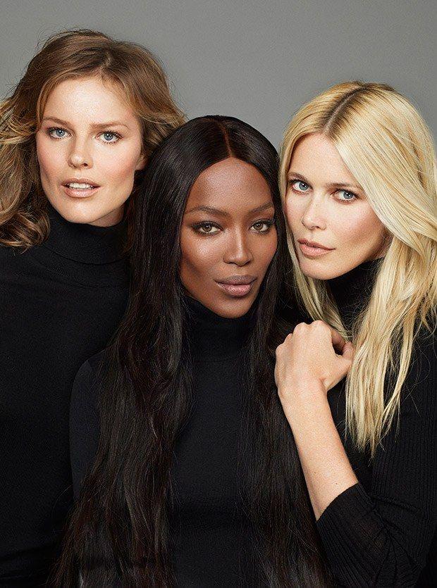 Vogue Turkey presents the latest supermodel affair starring fashion legends Naomi Campbell, Eva Herzigova & Claudia Schiffer