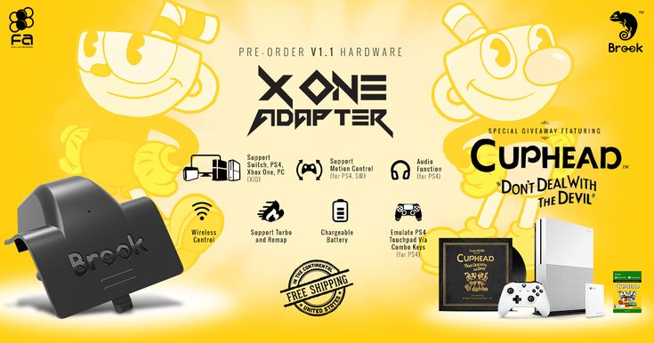 Pre-order version 1.1 of Brook's hottest Xbox One gamepad accessory, the X One, and your automatically entered to win an Xbox One console and much more! Share for additional chances to win!