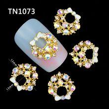 10 шт. 3d ногтей прелести ювелирные изделия клей стразы украшения для маникюра блеск на ваших ногтях TN1073(China (Mainland))
