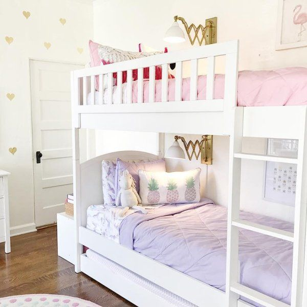 Hayes Low Bunk Bed Pottery Barn Kids Bed For Girls Room Bunk