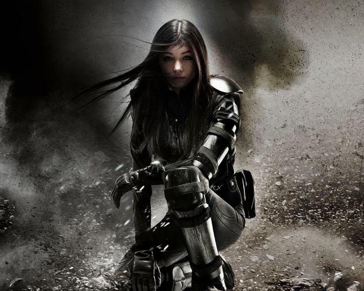 Women Warrior Artwork Sword Rain Cyberpunk Cyberpunk: 120 Best Images About Sci-Fi Women On Pinterest