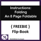 { FREEBIE } Instructions on How to Fold an 8 Page Flip Boo (scheduled via http://www.tailwindapp.com?utm_source=pinterest&utm_medium=twpin&utm_content=post125735065&utm_campaign=scheduler_attribution)