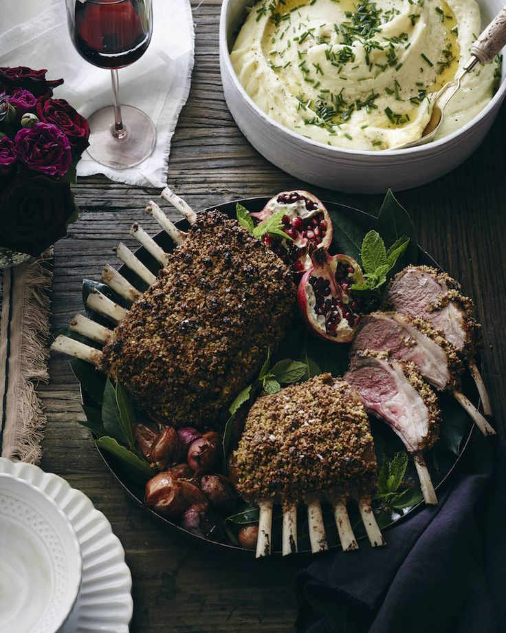 Pistachio Crusted Rack of Lamb from www.whatsgabycooking.com - it looks fancy but it seriously couldn't be easier! (@whatsgabycookin)