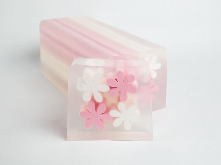 Pink Flower Inserts - Soap Base Manufacturers, Soap Bases, Soap Suppliers…