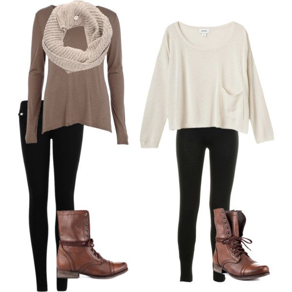 brown combat boots fashion a fashion look from february