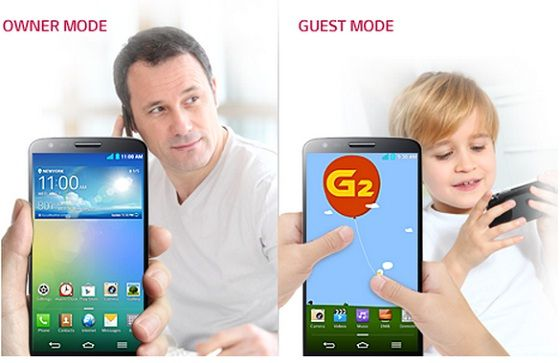 How to Setup and Use Guest Mode on LG G2