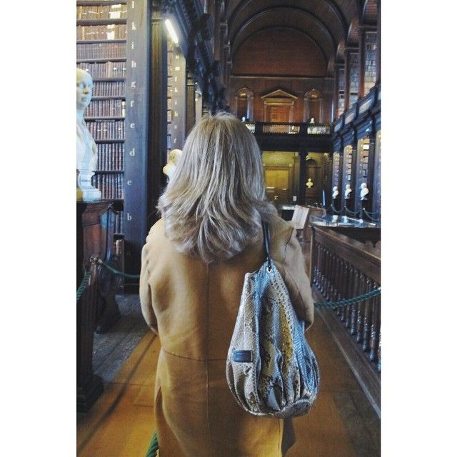 Absorbing some knowledge at Trinity College, Dublin | The Talega Python.