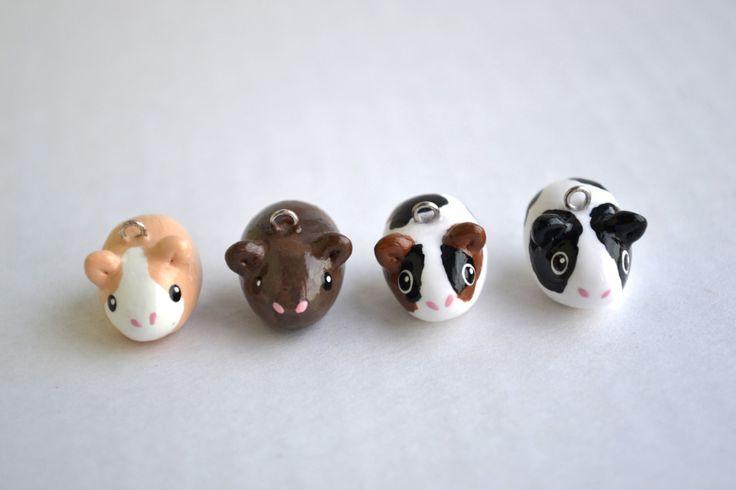 Assorted Kawaii Guinea Pig Animal Charms by CheekyCharmz on Etsy, $4.50