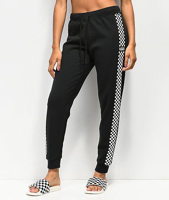d4c9b536 Vans Funday Black Sweatpants | Style | Leggings are not pants ...