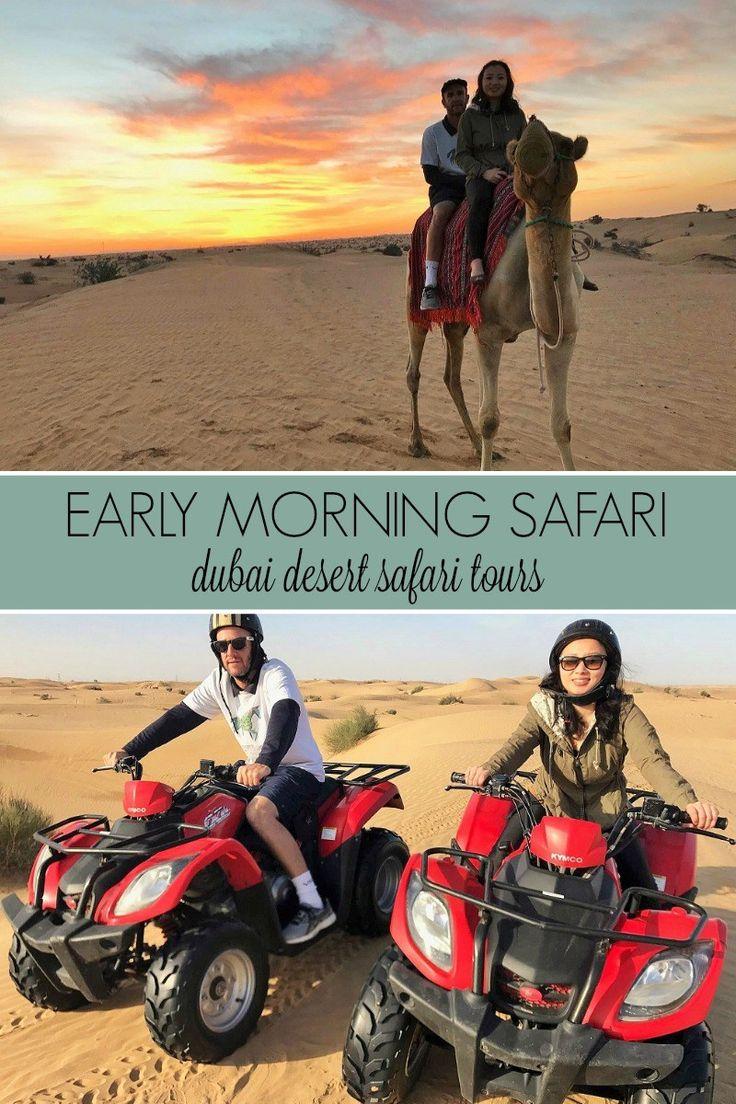 Early morning safari with Dubai Desert Safari Tours   slightly astray
