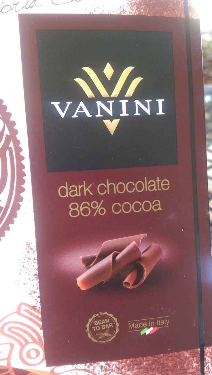 Vanini dark chocolate 86% cocoa