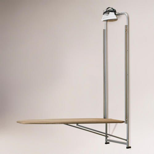 Over the Door Ironing Board - so much easier than pulling the ironing board out of the closet