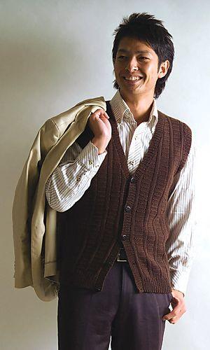 Ravelry: 29-210-49 Sweater Vest pattern by Pierrot (Gosyo Co., Ltd) free download