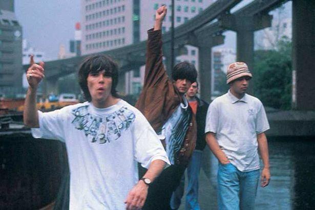 Ian, John, Mani and Reni