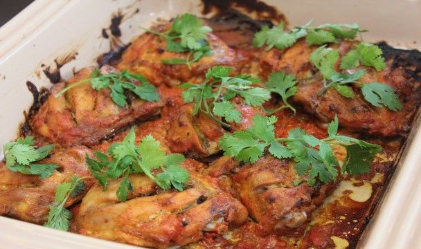 Low Fat Tandoori Chicken : Dinner Dash with Hilary Biller : The Home Channel