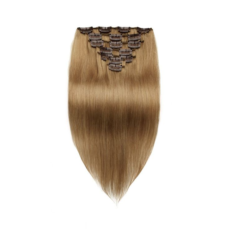 208 best clip in human hair extensions images on pinterest human 7pcs straight clip in remy hair extensions 8 light brown pmusecretfo Gallery